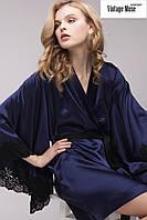 Короткий халат с кружевом  'Vintage Muse negligee'