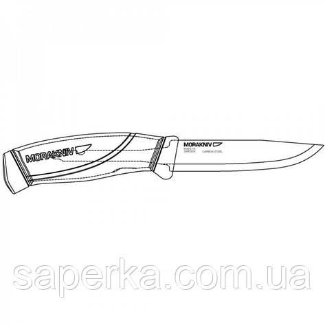 Нож Morakniv Companion BlackBlade 12553, фото 2