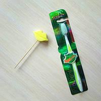 Зубная щетка «Проденталь» Тианде ,код 90148,цвет зеленый ,тон 03