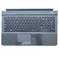 Клавиатура для ноутбука SAMSUNG (RC710, RC720 Series Keyboard+Touchpad+передняя панель) rus, чёрный