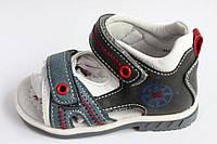 Босоножки сандалии летние для мальчика С.ЛУЧ открытые (20-25)