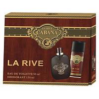 Мужской подарочный набор LA RIVE CABANA (Туалетная вода 90 мл/дезодорант 150 мл)