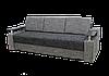 Диван Garnitur.plus Еврокнижка 1 темно-серый 230см