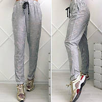 "Летние женские брюки на резинке ""Рванка"" с карманами (3 цвета)"