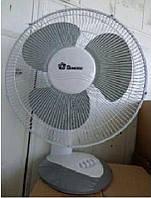 Вентилятор настольный DOMOTEC-1601, Бытовой вентилятор, Вентилятор для дома, Домашний Вентилятор на стол