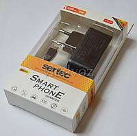 Сетевое зарядное micro USB 1,2A 5V Sertec