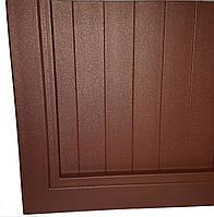 Ставни металлические глухие на двери и окна