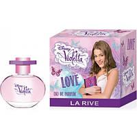 Детская парфюмированная вода LA RIVE VIOLETTA LOVE, 50 мл