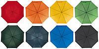 Зонт трость под нанесение логотипа Mobile, опт от 10 шт (розница, механика, ручка - пористая резина, полиэстер