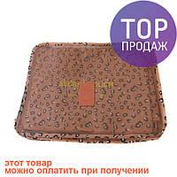 Набор органайзер дорожный 6 в 1 J01418 Pink Leopard/сумка органайзер