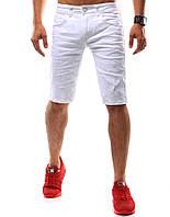 Шорты джинсовые мужские белый  32 sx0528