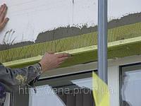 Профиль армирующий с сеткой для систем утепления и внутренних работ