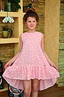 """Платье для девочки подростка """"Сердечки"""""""