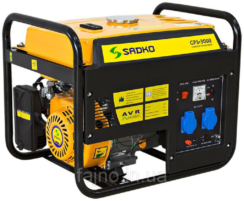 Бензиновый генератор SADKO GPS 3000Е фото 1