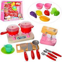 Набор бытовой техники Z58006-Z58006-2 плита,зв,св,посуда,продукты