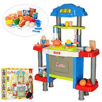 Кухня 77021  65-86-26см,звук,свет,посуда,продукты,26предм,на бат-ке