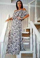 Платье. Ткань - креп шифон Размер 42-46. (21300)