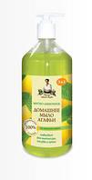 Домашнее мыло Агафьи 1л Мятно-лимонное