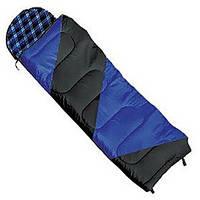 Спальный мешок NightLife индиго/черный L