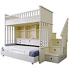 """Двухъярусная кровать с лестницей-комодом """"Кембридж"""", фото 2"""