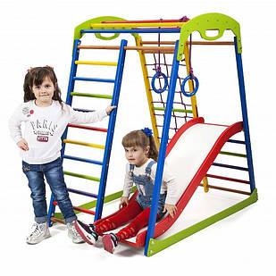 Дитячий спортивний комплекс для будинку SportWood Plus 1