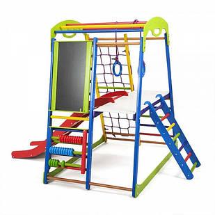 Дитячий спортивний комплекс для будинку SportWood Plus 3