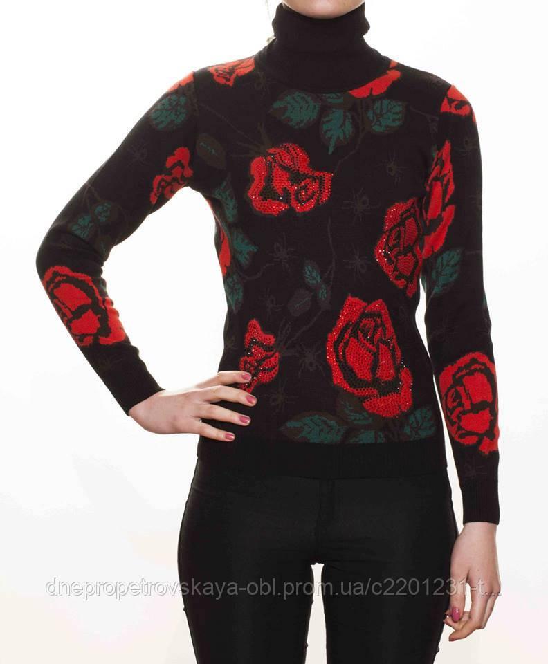 Модный свитер Kazee цветочный принт