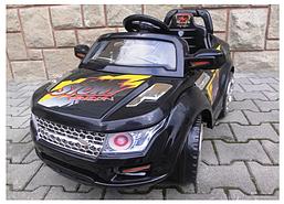 Детский электромобиль на аккумуляторе Jeep с пультом управления и музыкой МР3 (чудомобиль)