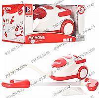 Пылесос 3213, детский, игровой, 19*12*14,5 см, звук, свет, на батарейках, шарики, в коробке 29*15*18 см