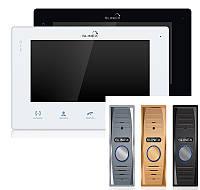 Комплект домофона Slinex SQ-07MT - детекция, сенсорный экран, ультратонкий