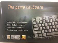 Проводная игровая компьютерная клавиатура Nakatomi The Game Keyboard!Опт, фото 3