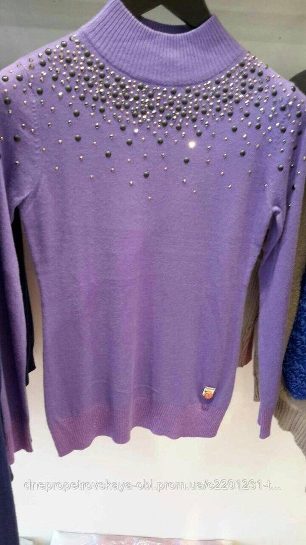Стильные и модные свитерки Sogo жемчуг