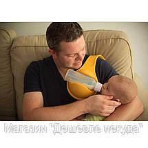 Держатель детской бутылочки при кормлении Free Hand Bottle Holder!Акция, фото 3