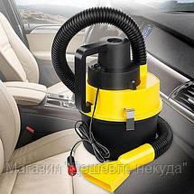 Автомобильный пылесос для сухой и влажной уборки The Black multifunction wet and dry vacuum!Акция, фото 2