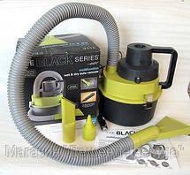 Автомобильный пылесос для сухой и влажной уборки The Black multifunction wet and dry vacuum!Акция, фото 3