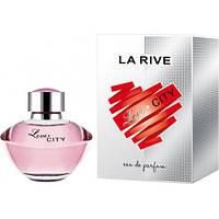 Женская парфюмированая вода La Rive LOVE CITY, 90 мл