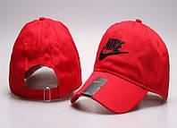 Бейсболка Nike красный