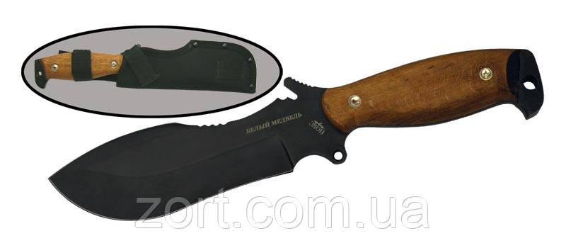 Нож с фиксированным клинком Белый медведь У