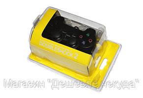 Джойстик PS2 проводной (желтый блистер), игровой джойстик, фото 2