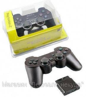 Джойстик PS2 проводной (желтый блистер), игровой джойстик, фото 3