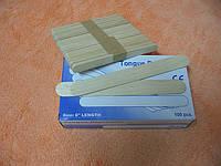 Шпатель узкий деревянный для депиляции, 50 шт/уп