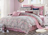 Постельное белье двухспальный комплект, Пурпурно-розовый