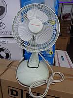 """Настольный вентилятор NOKASONIC 6"""", Домашний вентилятор, Портативный вентилятор, Мини вентилятор для дома"""