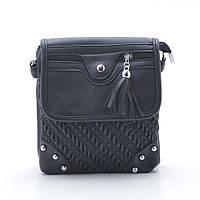 Женская сумочка-клатч 6853 черный маленький