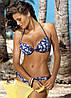 Молодежный пляжный купальник M 264 SYNDY (размеры S-2XL в расцветках), фото 4