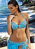 Молодежный пляжный купальник M 264 SYNDY (размеры S-2XL в расцветках), фото 2