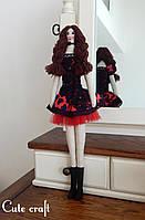 мягкая кукла Laura handmade