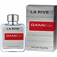 Мужская туалетная вода LA RIVE GAME FOR MAN, 100 мл