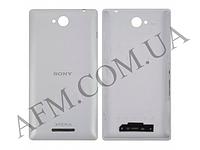 Задняя крышка Sony C2305 S39h Xperia C белая оригинал