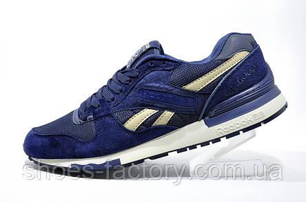 Мужские кроссовки в стиле Reebok GL 6000, SNE (Dark Blue), фото 2